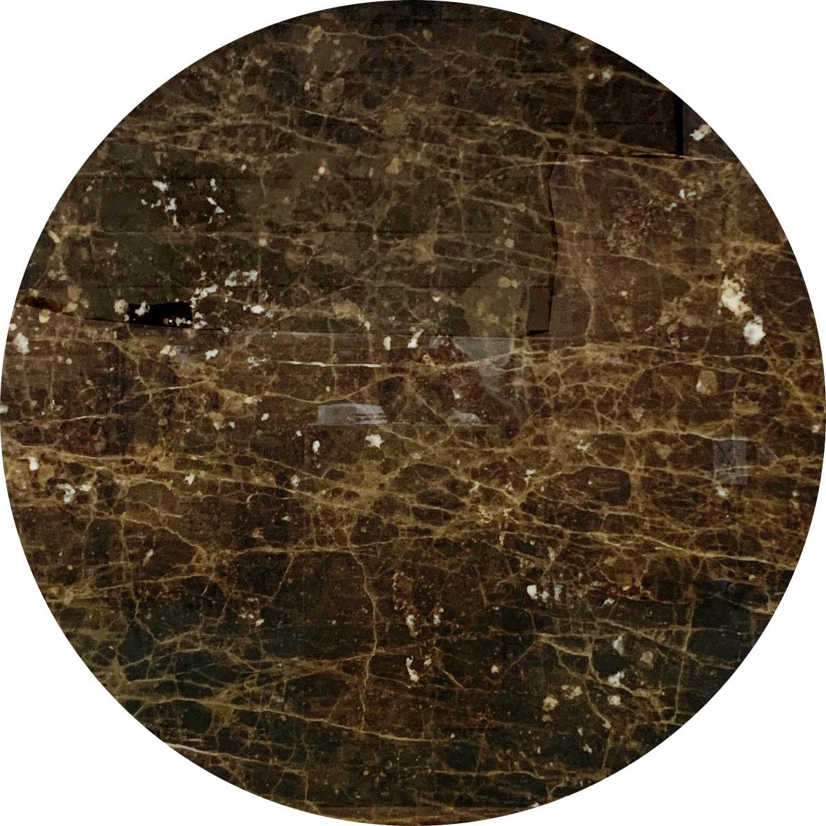 Saarinen Collection Round Tables(サーリネンテーブル)Φ1200mm ブラウンエンペラドール 176TRMBE1 (001)