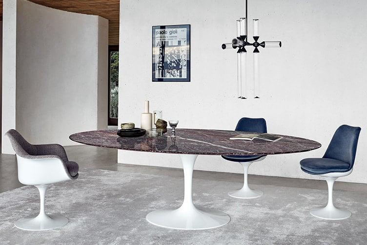 Saarinen Collection Round Tables(サーリネンテーブル) 1370mm カラカッタ 164TR