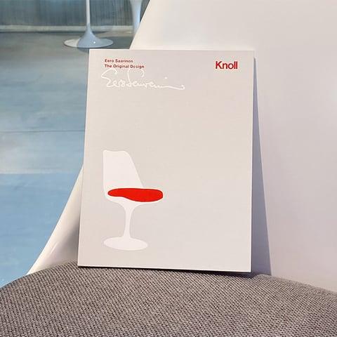 「Eero Saarinen The Original Design」(英・仏・独・伊語併記)Knollオリジナルブック