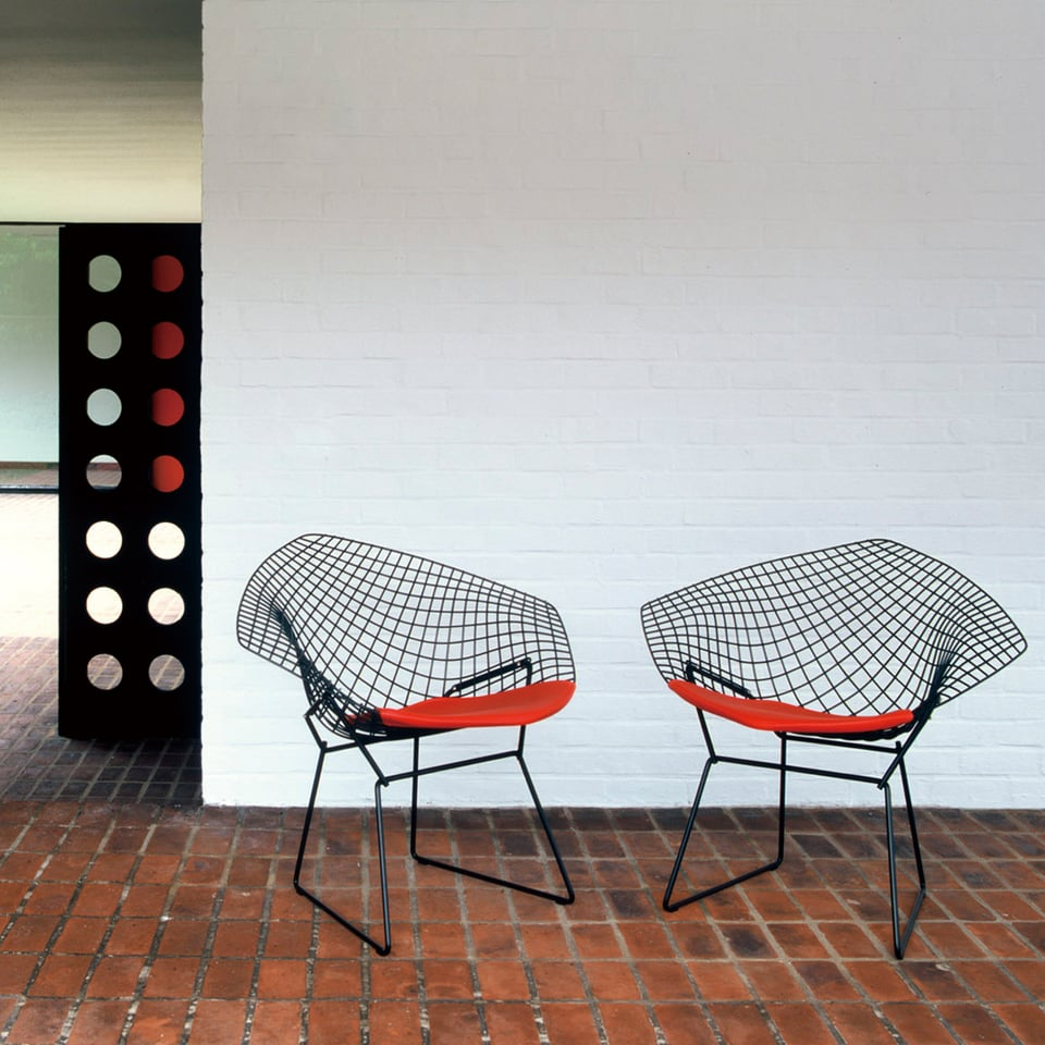 Diamond Armchair, Harry Bertoia 1952