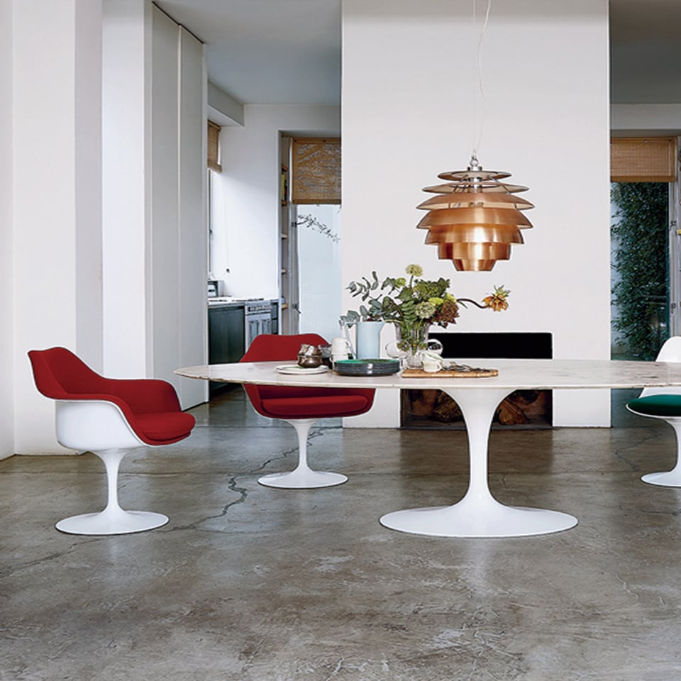 Tulip Chairs, Eero Saarinen 1957