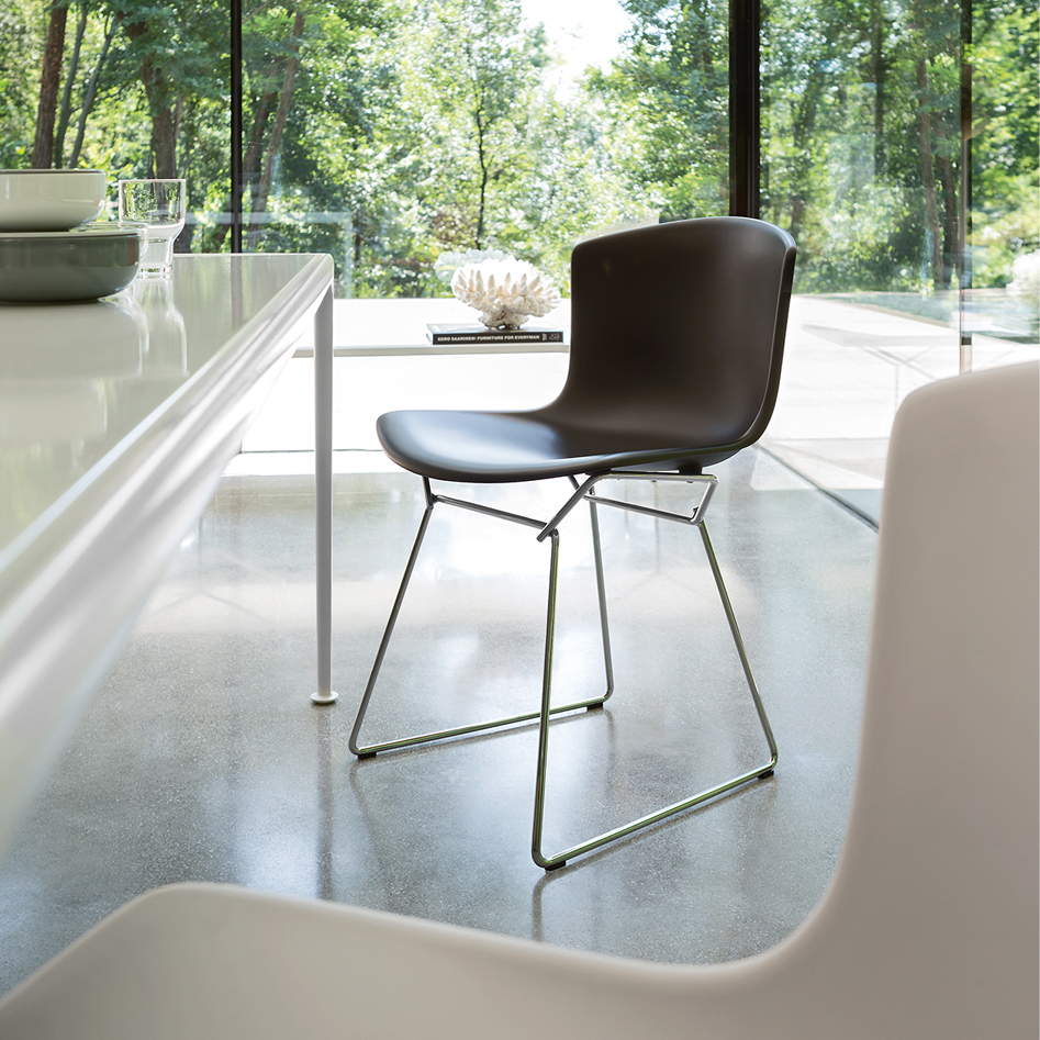 Bertoia Collection Side Chair -Plastic- [Quickship]
