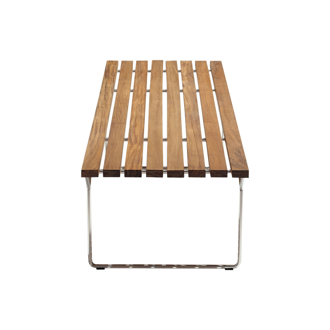 Bertoia Collection Bench Outdoor