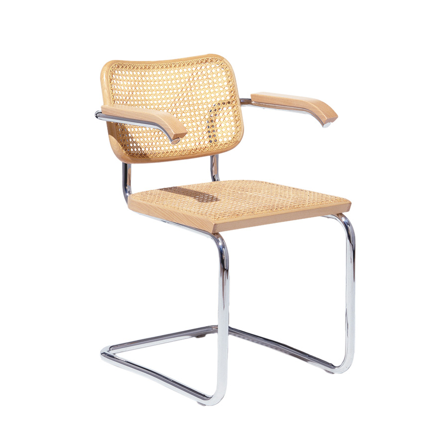 Breuer Collection Cesca Chair with Arms