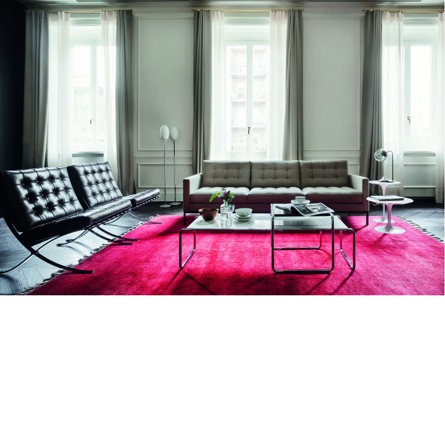 Mies van der Rohe Collection Barcelona chair - Relax[Quickship]