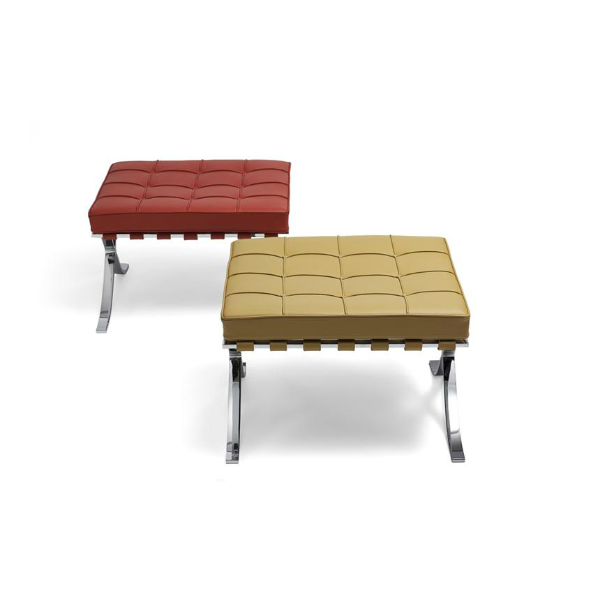 Mies van der Rohe Collection Barcelona stool - Relax