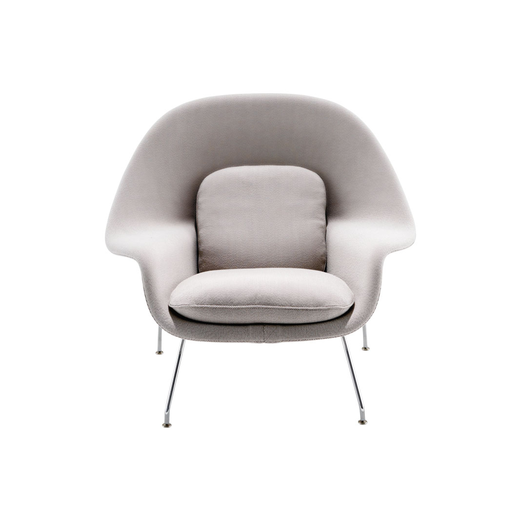 Saarinen Collection Womb Chair and Ottoman - midium