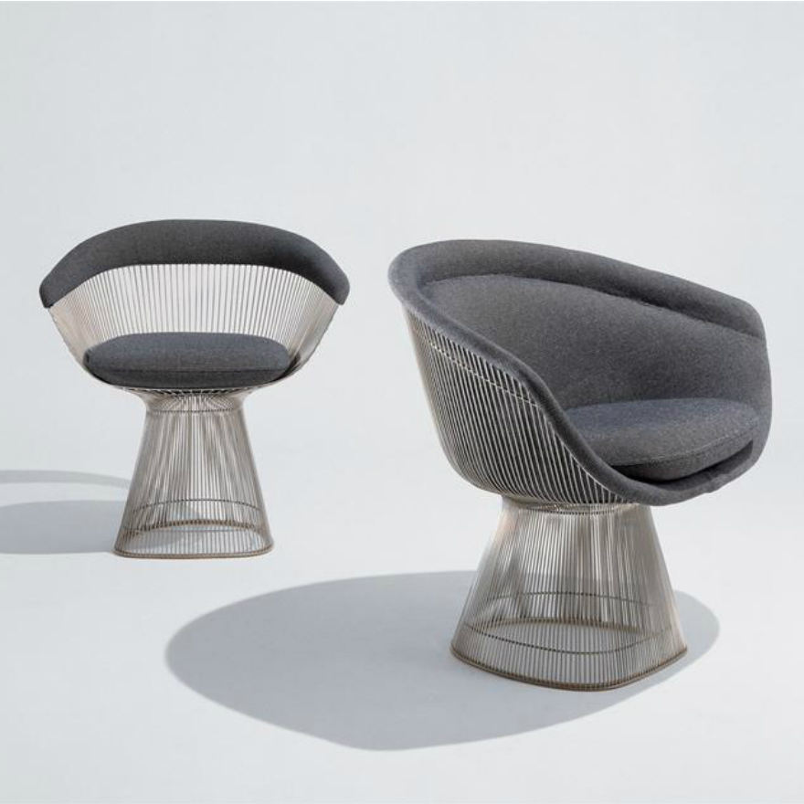 Pleasing Platner Collection Lounge And Side Seating Lounge Chair Spiritservingveterans Wood Chair Design Ideas Spiritservingveteransorg