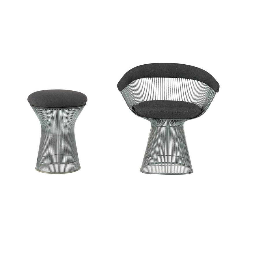 Platner Collection Lounge and Side Seating (Stool)