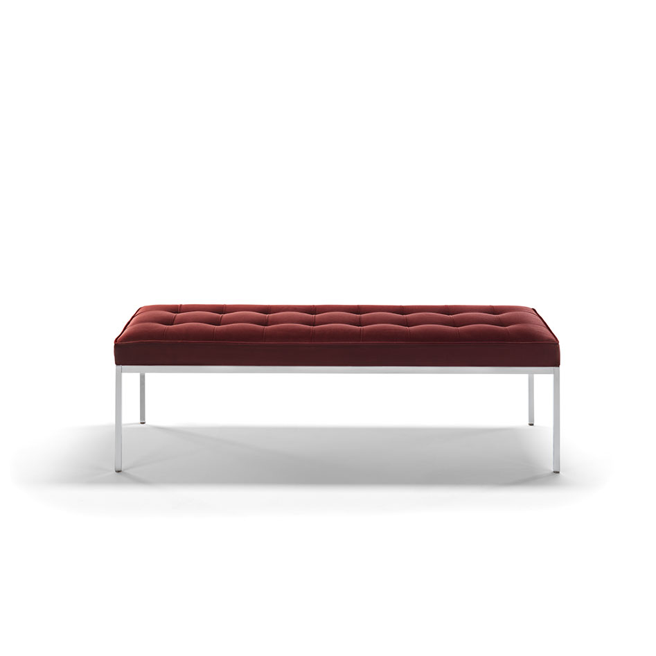 Florence Knoll Collection Classic and Relax Bench