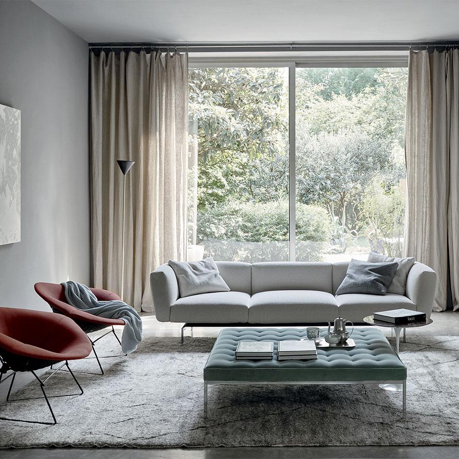 Piero Lissoni Avio Sofa System sofa table