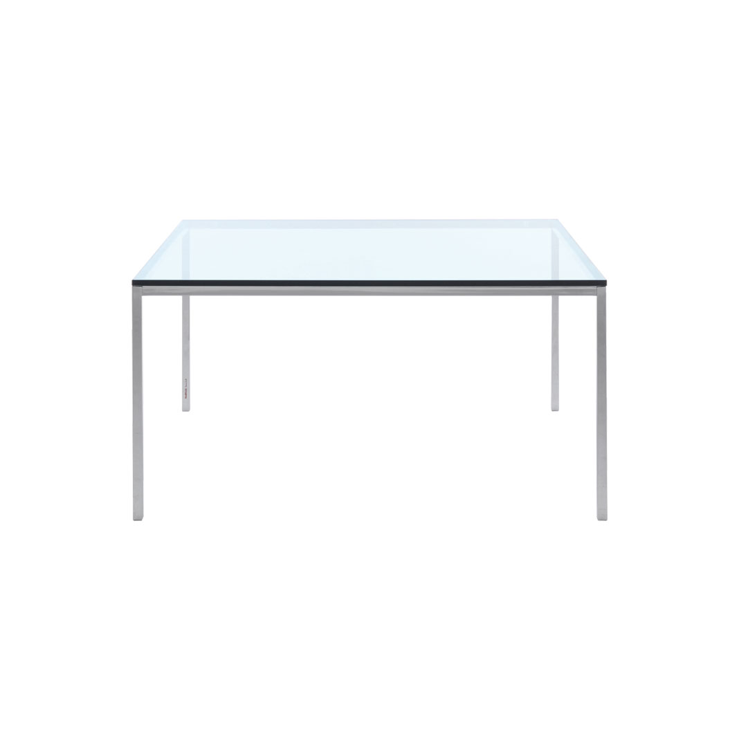 Florence Knoll Collection Square Table and Mini Desk