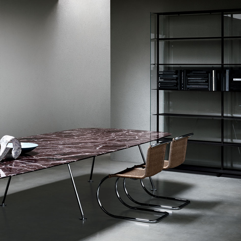 Piero Lissoni Collection Grasshopper High Rectangular Tables
