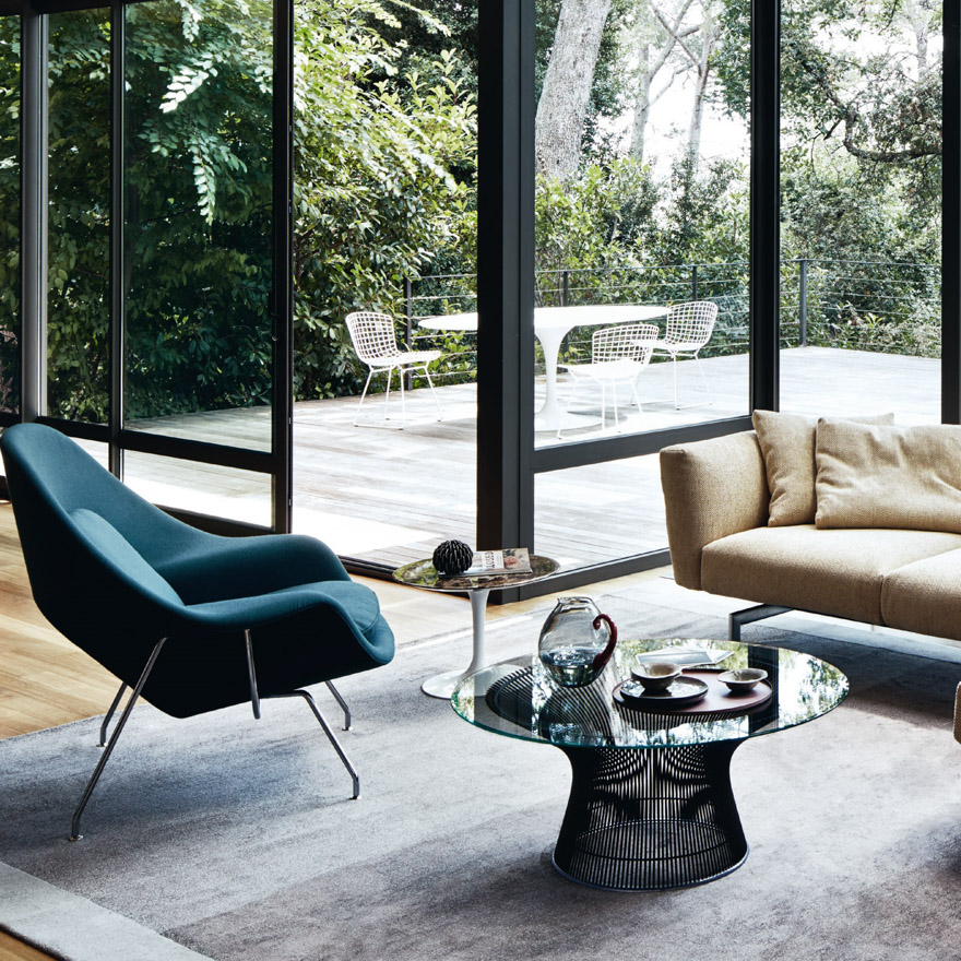 Saarinen Collection Womb Chair and Ottoman