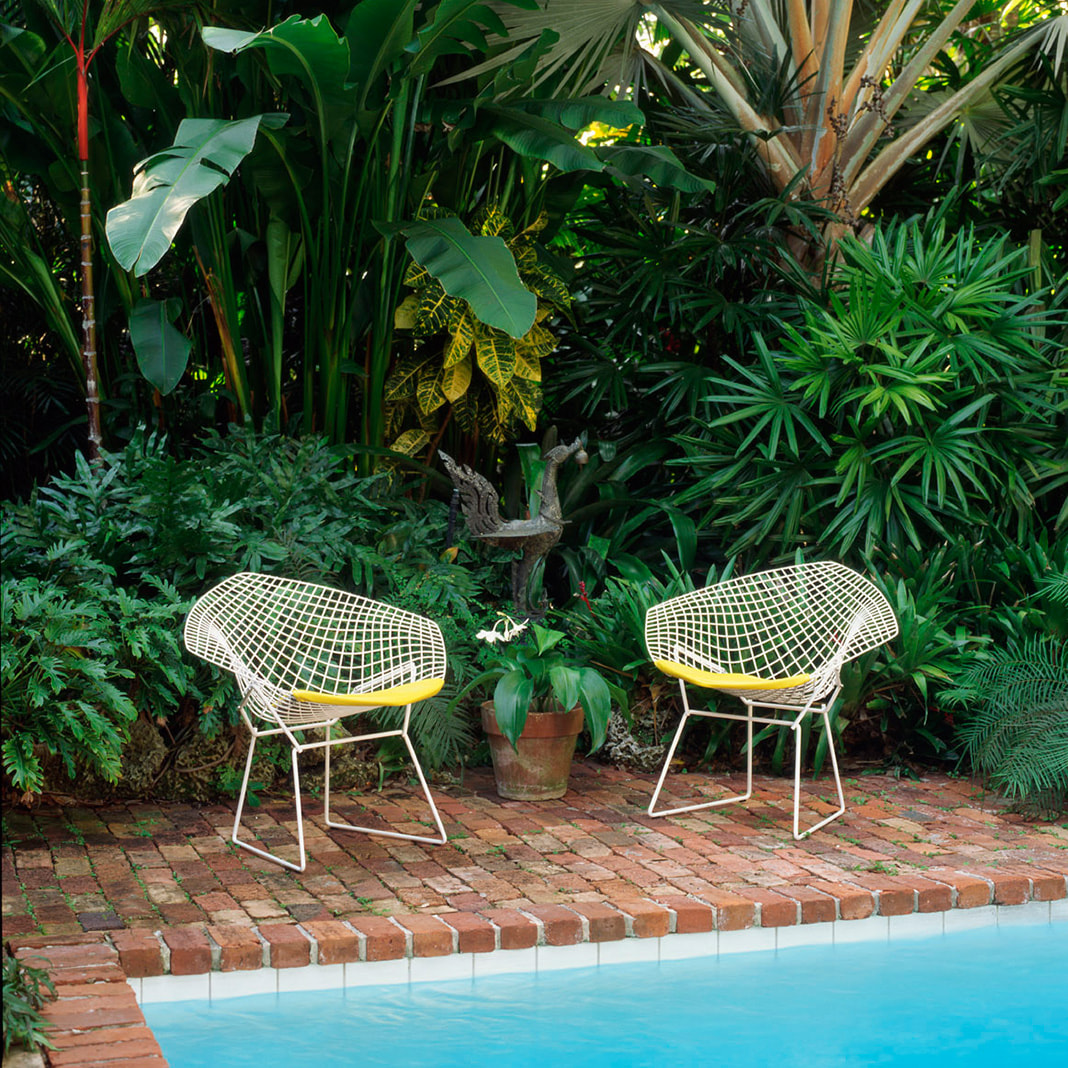 Bertoia Collection Lounge Seating -Diamond Armchair- Outdoor