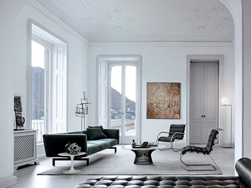 Mies van der Rohe Collection MR Bauhaus Edition - armless chair