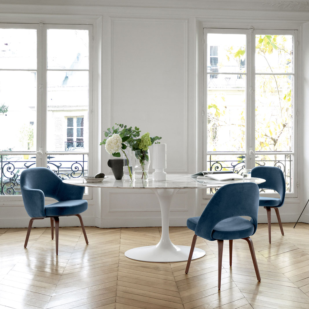 Saarinen Collection Conference Chairs - Armchair-  [QuickShip]