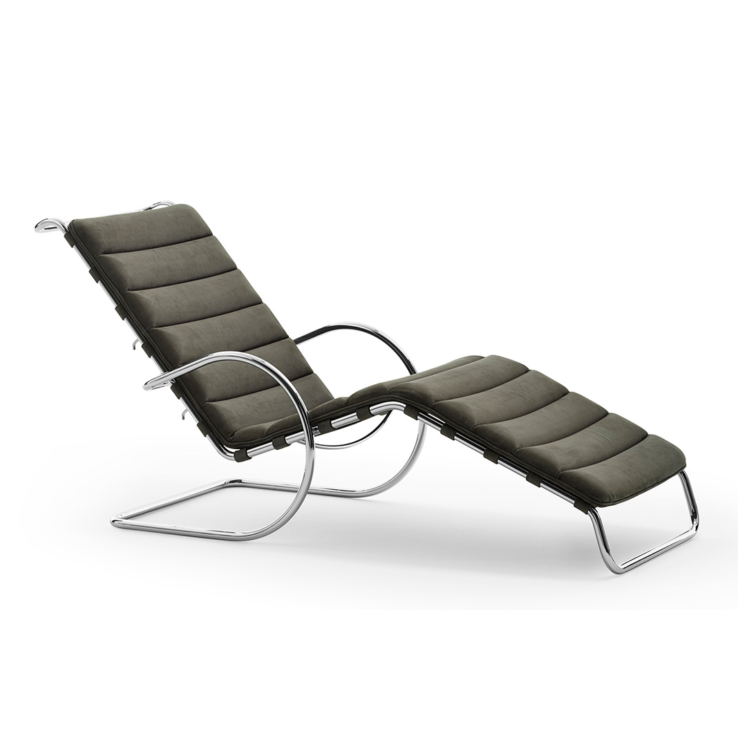 Mies van der Rohe Collection MR Bauhaus Edition - adjustable chaise lounge