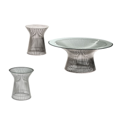 Platner Collection Low Tables